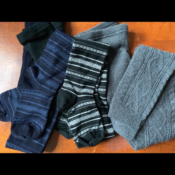 40411b18c728f Uniqlo Pants | 3 Pairs Heat Tech Tightsleggings | Poshmark
